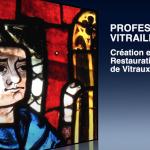 film «Profession Vitrailliste» réalisé par les 3ème Segpa de l'EREA de Changé